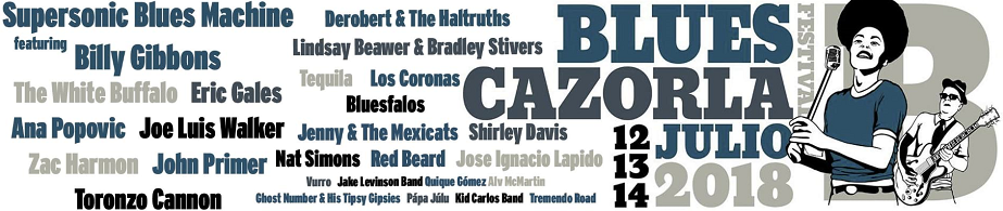 artistas blues cazorla